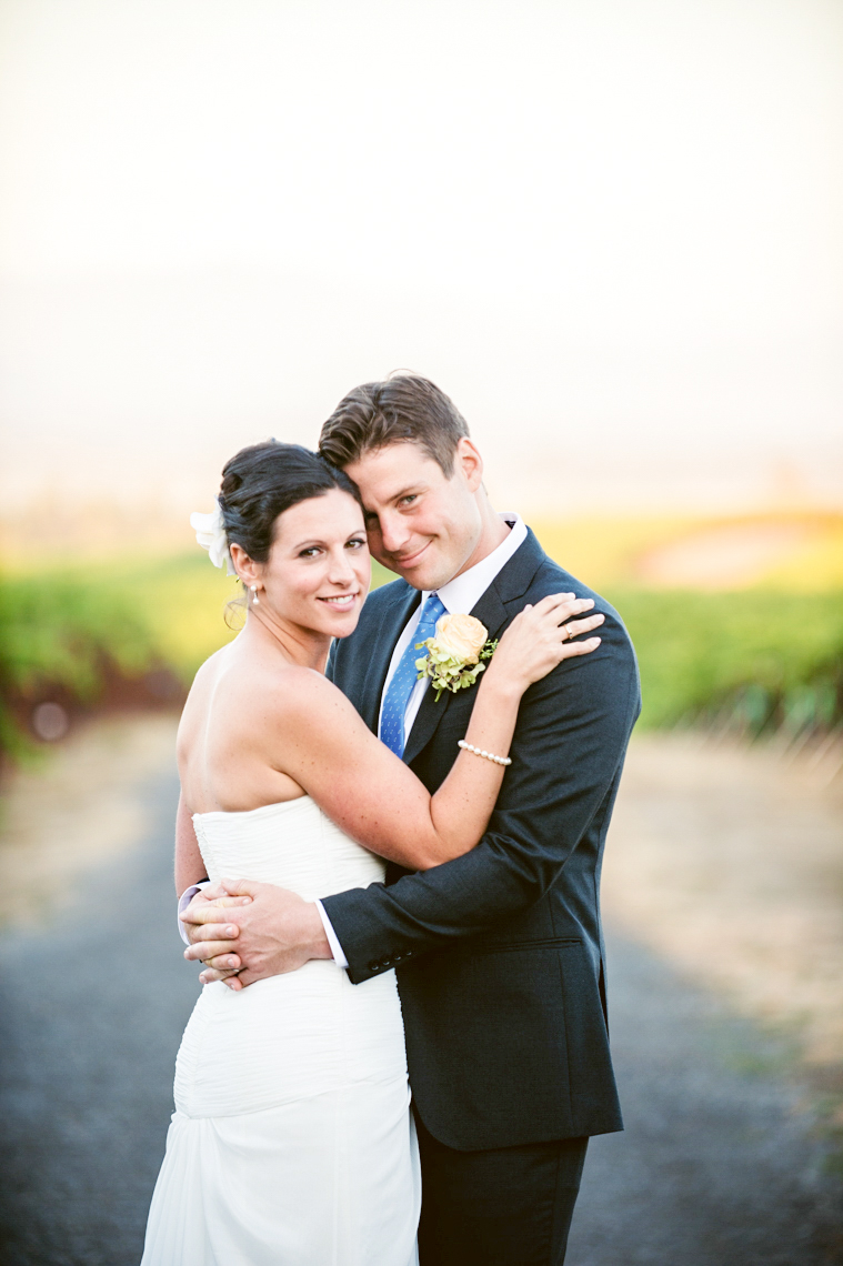 vine hill house sebastopol wedding portrait